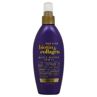 Organix Thick and Full Biotin and Collagen Root Boost 6-ounce Hair Spray