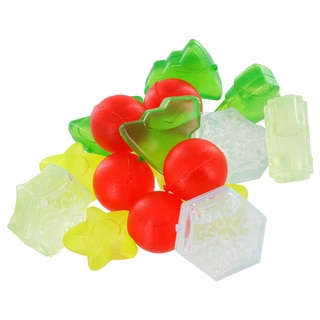 Christmas Shape Assorted Reusable Ice Cubes (Pack of 16)