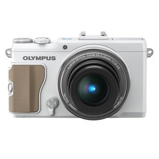 Olympus STYLUS XZ-2 iHS 12MP White Digital Camera