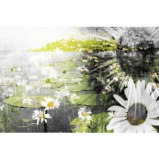 Parvez Taj 'Lillies' Canvas Art Print