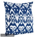 Ikat with Kantha Stitches Decorative Throw Pillow