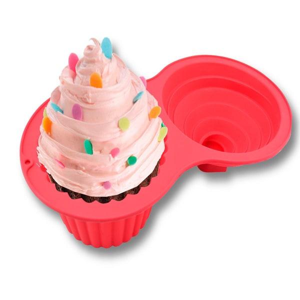 Jumbo Silicone Cupcake Mold 12222938