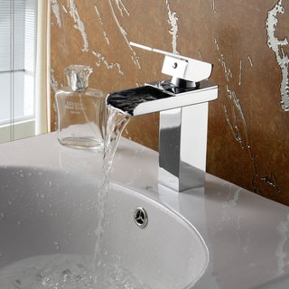 Elite '8813C' Chrome Single Lever Basin Sink Faucet