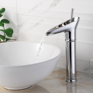 Elite '8806C' Chrome Single Lever Vessel Sink Faucet