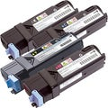 Dell 2130/ 2135 Remanufactured Compatible BCYM Toner Cartridge Set