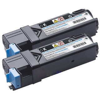 Dell 2150/ 2155 Compatible Black Toner Cartridge (Pack of 2)