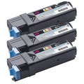 Dell 2150/ 2155 Compatible Magenta Toner Cartridge (Pack of 3)