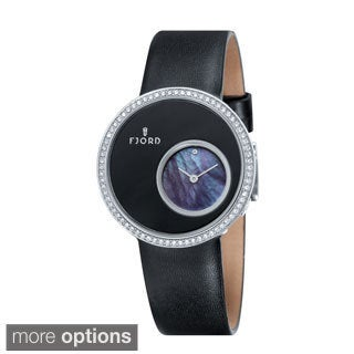 Fjord Women's 'Helga' Subdial Mother-of-Pearl Watch