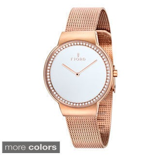 Fjord Women's 'Frida' Stainless Steel Watch