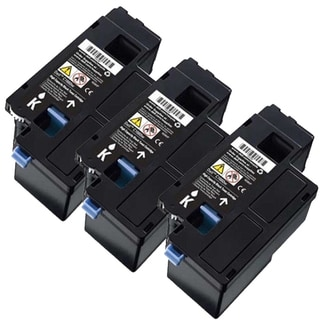 Dell C1660 (332-0399, 4G9HP) Black Compatible Toner Cartridges (Pack of 3)