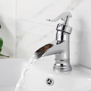 Elite '8809C' Chrome Single Lever Basin Sink Faucet
