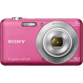 Sony Cyber Shot DSC-W710 16.1MP Pink Digital Camera