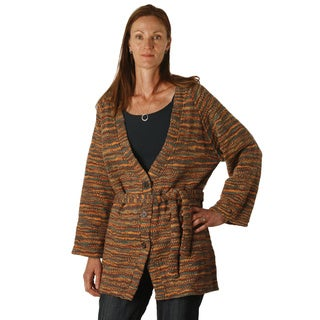 Women's Casual Belted Sweater (Nepal)