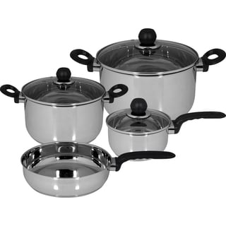 Magefesa 'Practika' 7-piece Stainless Steel Cookware Set
