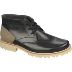 Men's Dr. Scholl's Da Capo Black/Off White Cyclone Leather