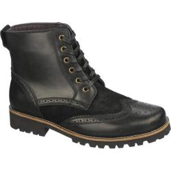Men's Dr. Scholl's Opus Black Cyclone Leather