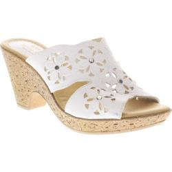 Women's Spring Step Magnetism White Leather