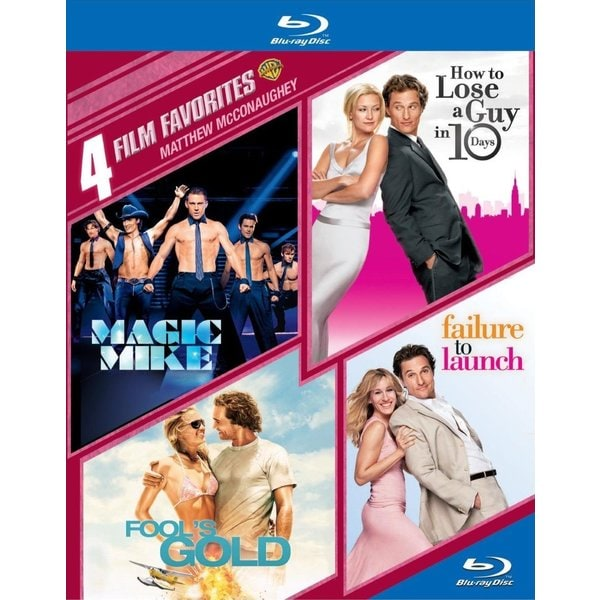 4 Film Favorites: Matthew Mcconaughey (Blu-ray Disc) 12224510
