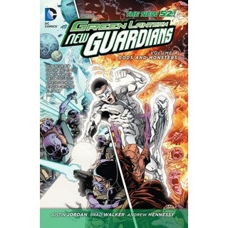Green Lantern New Guardians 4: Gods and Monsters (Paperback)