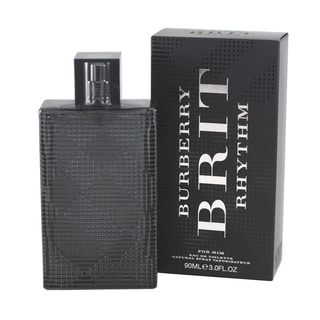 Burberry Brit Rhythm Men's 3-ounce Eau de Toilette Spray
