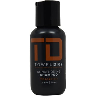 Towel Dry Men's 2-ounce Conditioning Shampoo