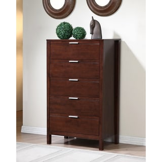 Malaga 5-drawer Wenge Chest