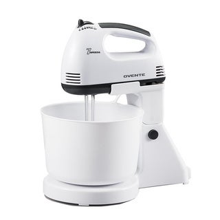 Ovente 200-watt 7-speed Stand and Hand Mixer