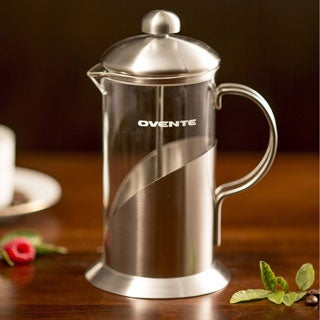 Ovente FSL Series French Press Leaf