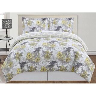 Peony 3-piece Comforter Set