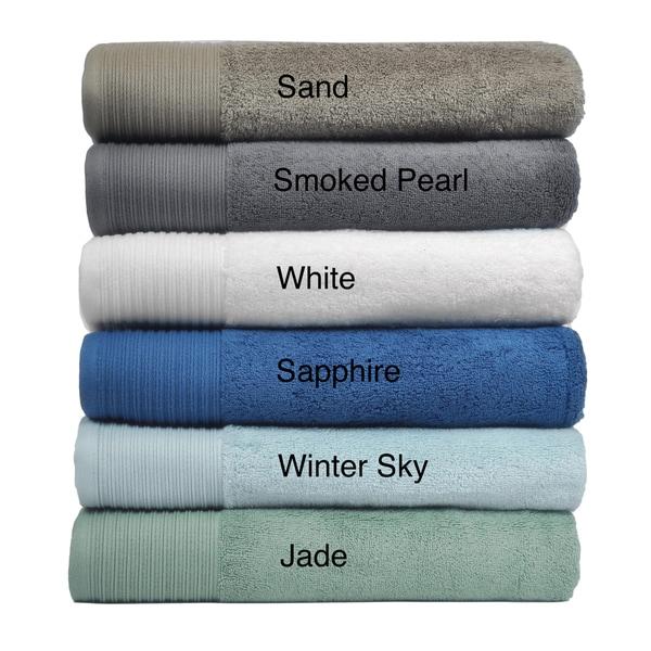 Supima Cotton 6 Piece Bath Towel Set