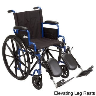 Blue Streak Wheelchair with Flip-back Desk Arms