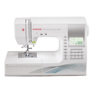 Singer Quantum Stylist 9960W 600-stitch Sewing/ Quilting Machine
