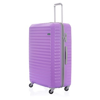 Lojel Groove Zipper 31-inch Hardside Spinner Upright Suitcase