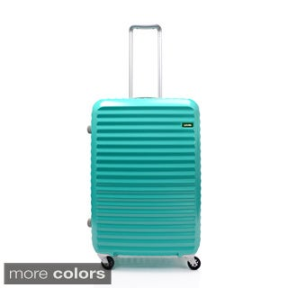 Lojel Groove Zipper 26-inch Hardside Spinner Upright Suitcase