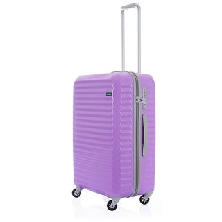 Lojel Groove Zipper 26.5-inch Hardside Spinner Upright Suitcase