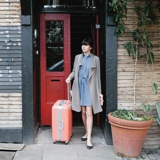 Lojel Groove Frame 30-inch Hardside Spinner Upright Suitcase