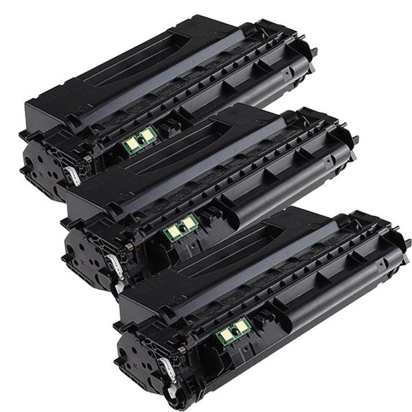 HP Q7553X (53X) Compatible Black Laser Toner Cartridge (Pack of 3)