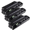HP Q7553X (53X) Compatible Black Laser Toner Cartridge (Pack of 3)
