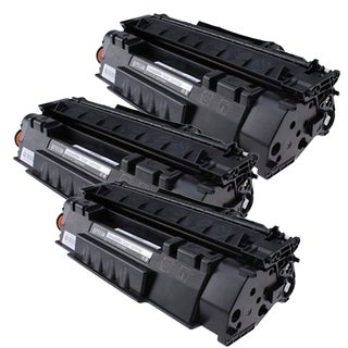 HP Q7553A (53A) Compatible Black Laser Toner Cartridge (Pack of 3)