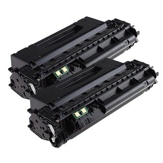 HP Q7553X (53X) Compatible Black Laser Toner Cartridge (Pack of 2)