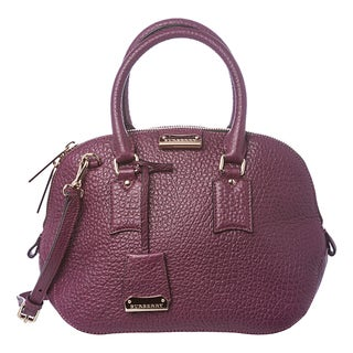 Burberry 'Heritage' Small Orchard Grained Leather Satchel