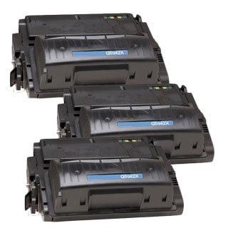 HP Q5942X (HP 42X) Compatible Black Laser Toner Cartridge (Pack of 3)