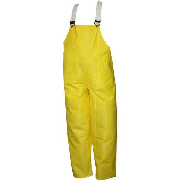 Webdri Yellow Plain Front Overalls