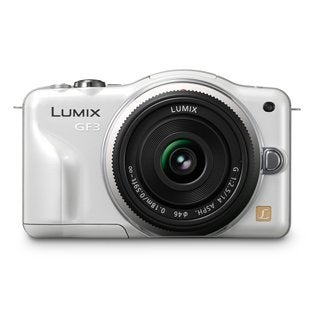 Panasonic Lumix DMC-GF3 Micro Four Thirds White Camera Body 14mm Lens