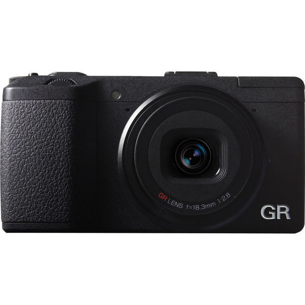 Ricoh GR 16.2MP Black Digital Camera