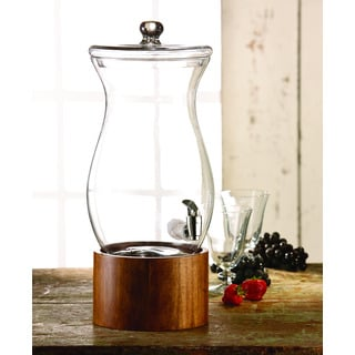 Madera Glass 1.5-gallon Beverage Dispenser