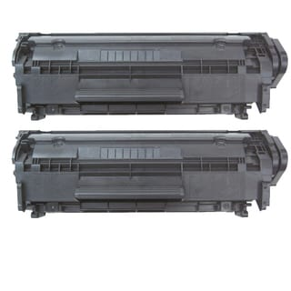 HP Q2612X (HP 12X) Remanufactured Compatible Black Toner Cartridge (Pack of 2)