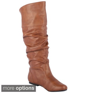 Qupid Women's 'Neo-144' Knee-high Slouch Boots