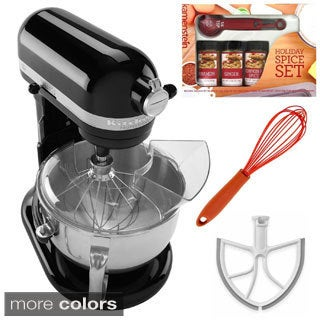KitchenAid KP26M1X 6-quart Pro 600 Mixer with Beater Blade, Spice Set, Whisk **with Cash Rebate**