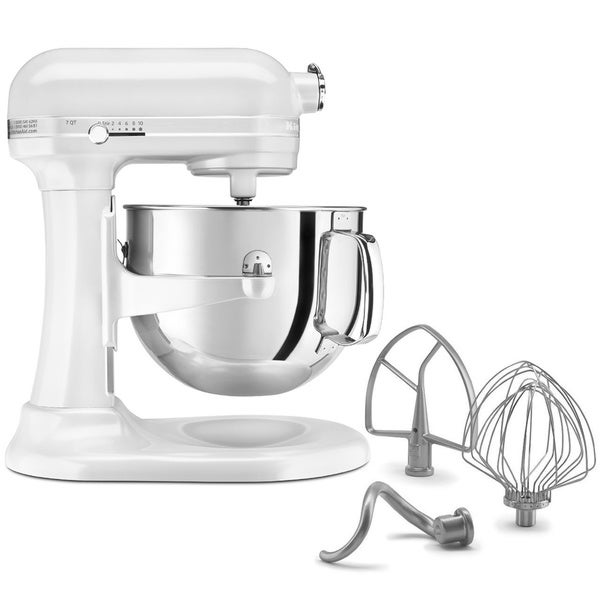 KitchenAid RKSM7581WH White 7-quart Bowl-Lift Stand Mixer (Refurbished)